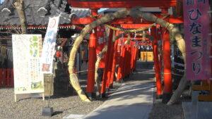 茅の輪くぐり 於菊稲荷神社