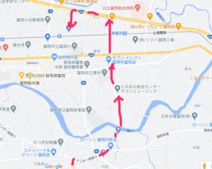 富岡製糸場 無料駐車場 地図