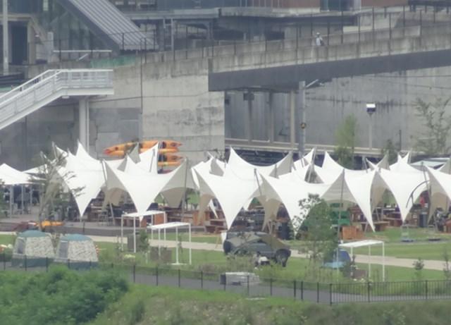 川原湯温泉駅 キャンプ