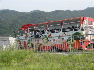水陸両用バス 八ッ場あがつま湖