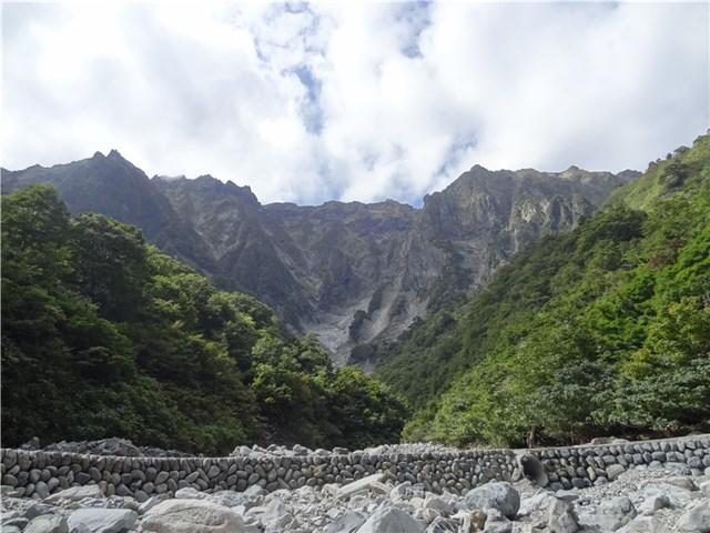 谷川岳 一の倉沢 紅葉