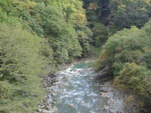 白砂渓谷ライン 紅葉