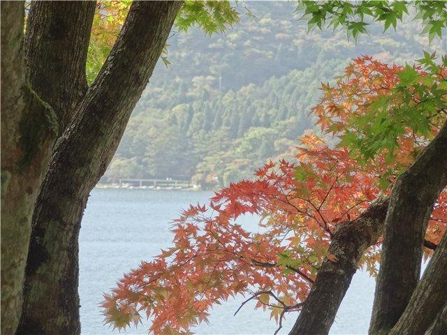 榛名湖 榛名山 紅葉