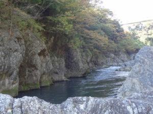 高津戸峡 紅葉