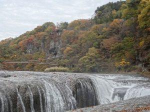 吹割の滝 紅葉
