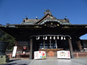 雷電神社 初詣