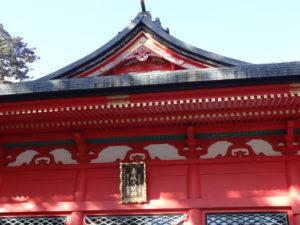 赤城神社 初詣