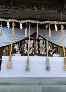 山名八幡宮 初詣