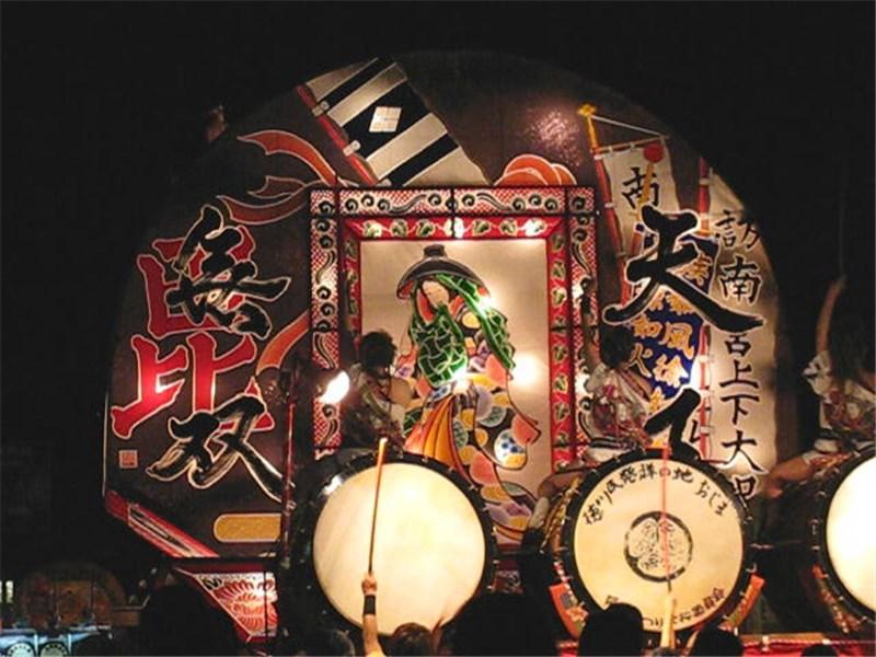 尾島ねぷた 2009年8月15日
