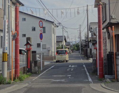 倉賀野神社 参道