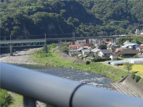 棚下不動の滝 利根川